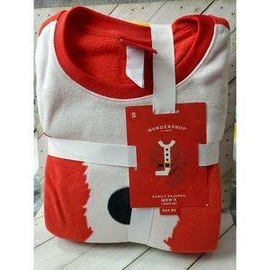 Target mens Red Santa Fleece Pajama
